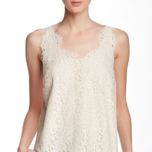 Joie lace tank/shell